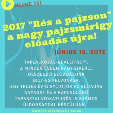 """2017″Rés a pajzson"""" – a nagy pajzsmirigy előadás"""