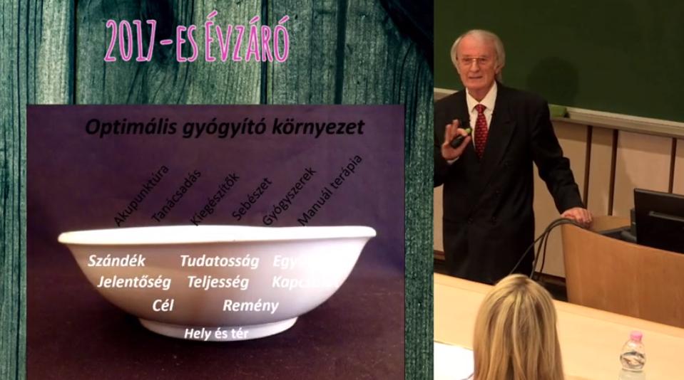 Dr. Varga Imre vendégelőadónk előadása video