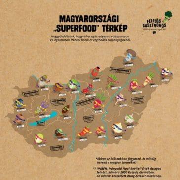 Magyarország Superfood térképe