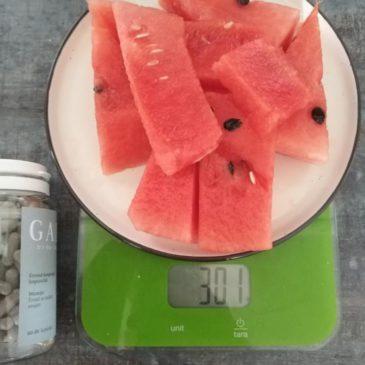 Étkezéshez javasolt gyümölcscukor mennyisége