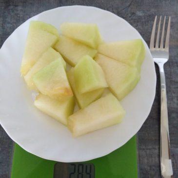 Étkezéshez javasolt sárgadinnye mennyisége