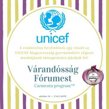 Köszönjük, hogy részvételeddel Te is támogatod az UNICEF tevékenységét!