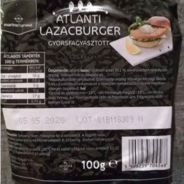 """Lazac-""""burger"""" a fagyasztópultból"""