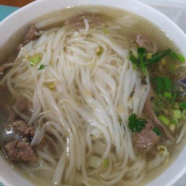 Gyors, gluténmentes ebéd egy vietnami étteremben (street food)