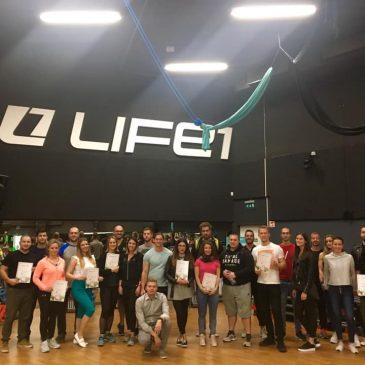 Life 1-Gilda MAX edzőivel együttműködés