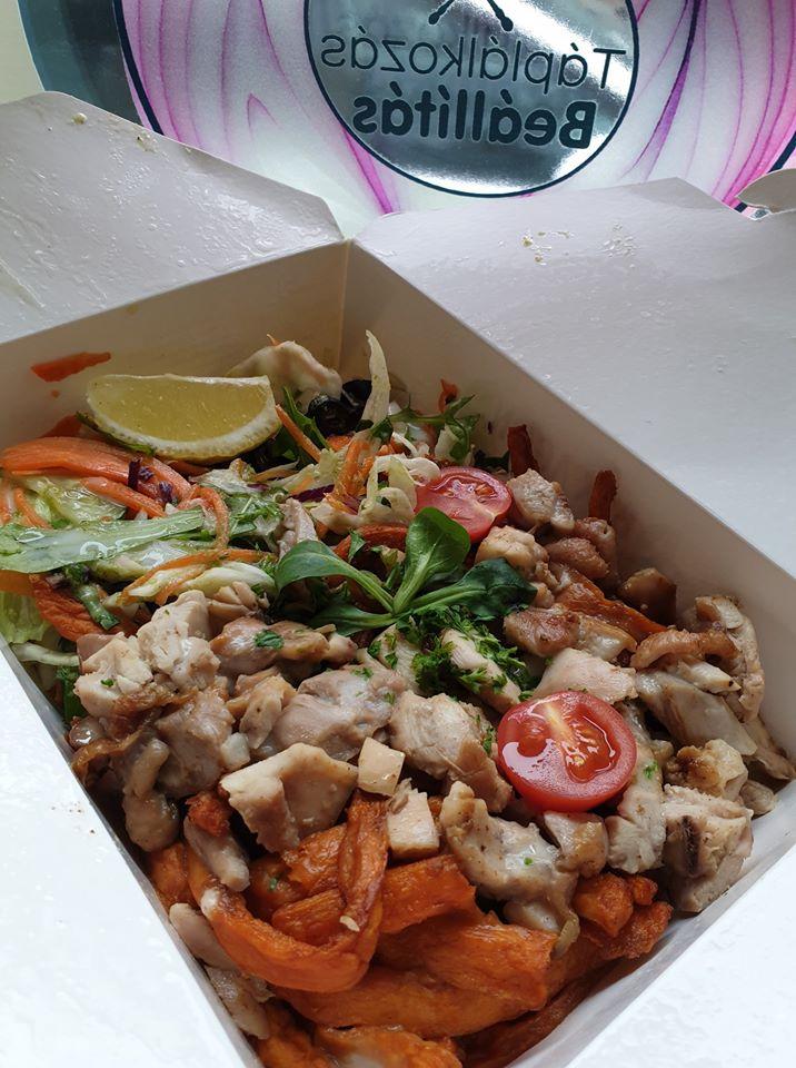 Ebéd a  Kitchen of Health-ből