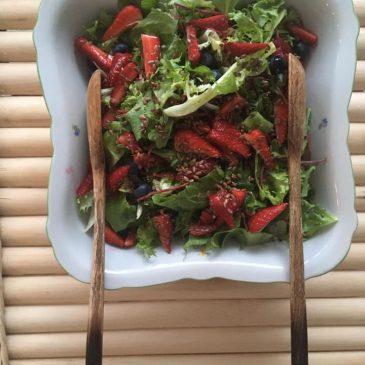 Egy kis nyárias saláta ötlet