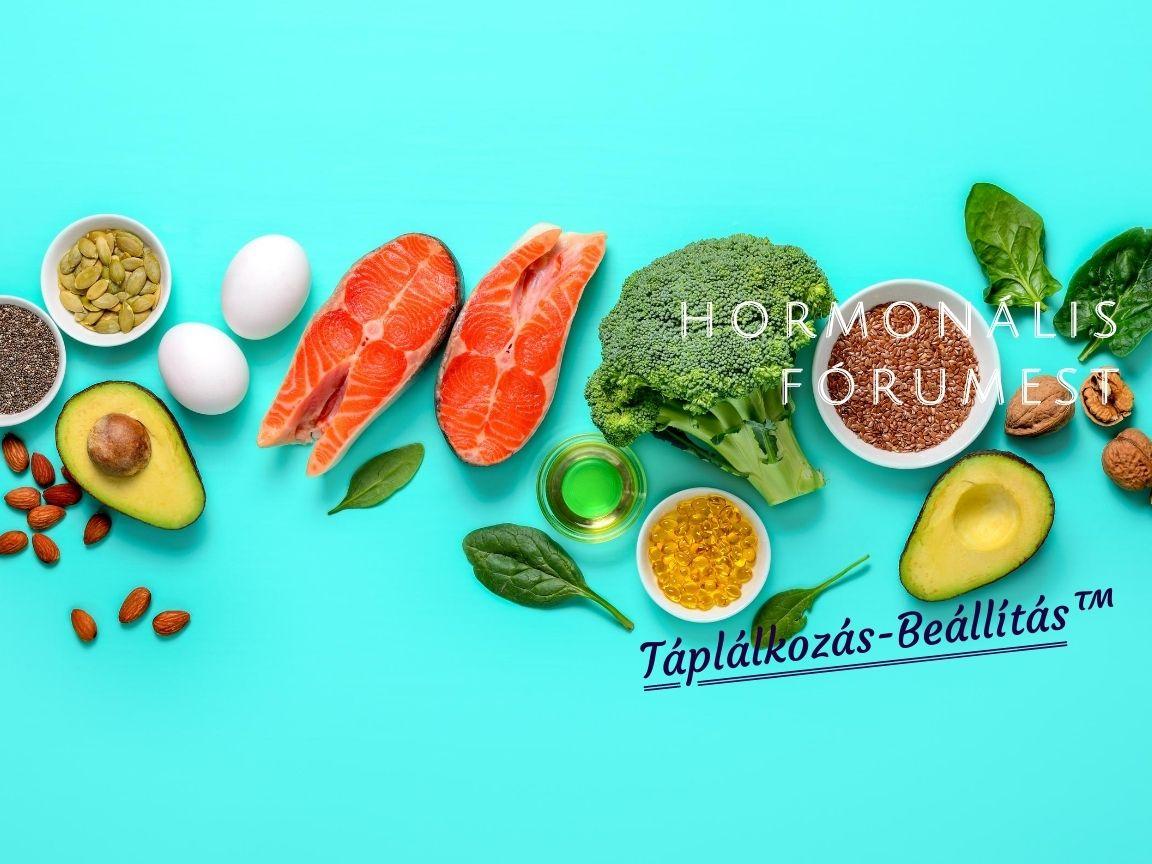 Táplálkozás-Beállítás™: átfogó, összefoglaló jellegű HORMONÁLIS FÓRUMEST