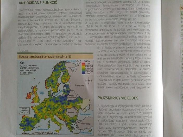 Magyarország talajainak szeléntartalma
