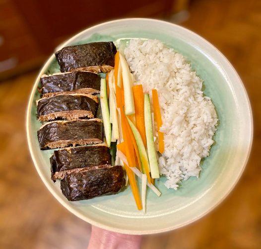 Japán ihletésű menü