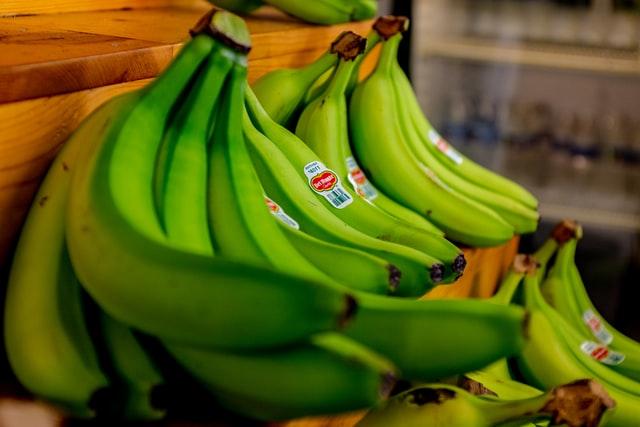 A zöldebb banán előnyei