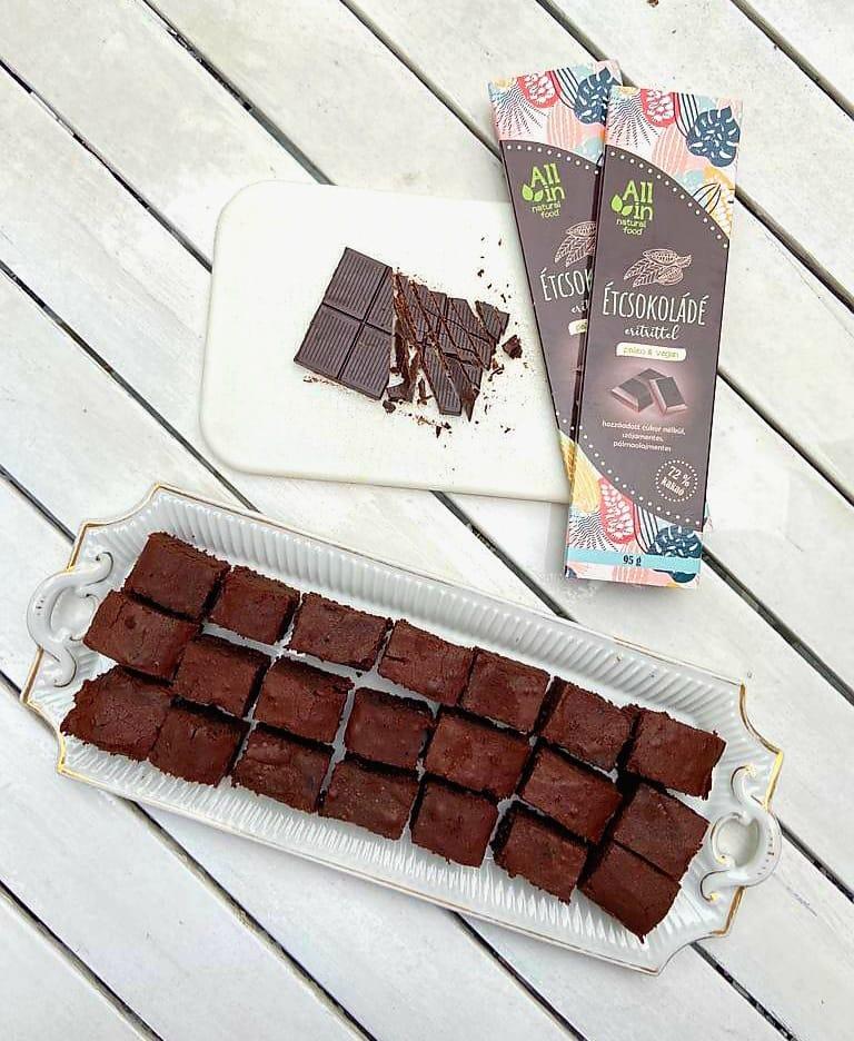 Gluténmentes brownie recept